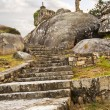Stairs of Con do Forno viewpoint — Lizenzfreies Foto