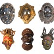 Stock Photo: Africmasks