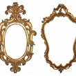 Stok fotoğraf: Wooden frame for mirrors