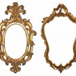 Stock Photo: Wooden frame for mirrors