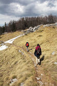Velebit trekking — Stock Photo