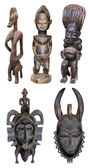 African sculpture — Stock Photo