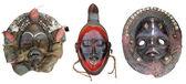 非洲面具 — 图库照片