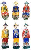 Chinese ceramic figurines — Stock Photo