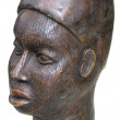 African sculpture of the head — Stock Photo #12242659