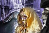 Venetiaanse carnaval — Stockfoto