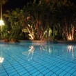 Pool at night2 - Stock Photo