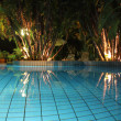 ������, ������: Pool at night1