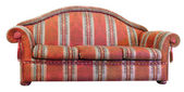 Red sofa — Stock Photo