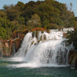 Krka waterfalls2 — Stock Photo