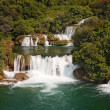 Krka waterfalls1 - Stock Photo