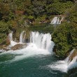 Krka waterfalls — Stock Photo