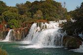 Krka waterfalls2 — Stock Photo