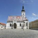 St Marks Church, Zagreb — Stock Photo #12595426