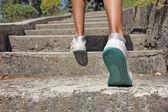 Subiendo escaleras — Foto de Stock
