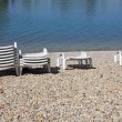 Beach chairs — Stock Photo #12848443