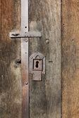 Old iron lock — Stock Photo