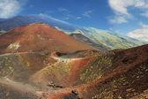 火山坑 — 图库照片