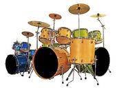 Set drums — Stockfoto