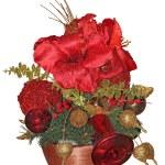 Beautiful christmas arrangements — Stock Photo
