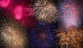 Magnifici fuochi d'artificio — Foto Stock