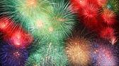 Grandes fogos de artifício — Foto Stock