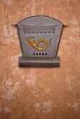 Paslı posta kutusu — Stok fotoğraf