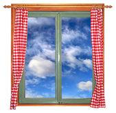 Green window1 — Stock Photo
