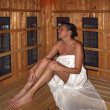 Royalty-Free Stock Photo: Women in sauna