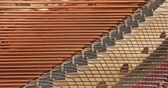 Piano strings — Stock Photo