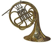 French Horn — Stock Photo
