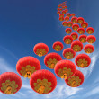 Chinese lanterns — Stockfoto #23302472