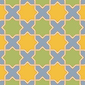 Byzantine mosaic2 — Stock Vector