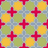 Byzantine mosaic — Stock Vector