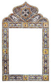 Moroccan mirror frame — Stock Photo