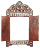 Antique Moroccan mirror — Stock Photo