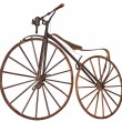 Old bicycle — Stock Photo #26209419