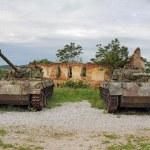 Постер, плакат: Two old tank
