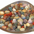 Stock Photo: Multi-colored stones