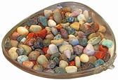 Multi-colored stones — Stock Photo