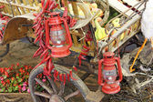 Old lanterns — Foto Stock