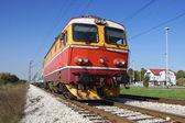 Red train — Stock Photo