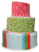 Colorful cake — Stock Photo