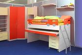 Children bedroom — Stock Photo