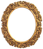 Antique gilded Frame — Stock Photo