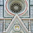 Detail of Cathedral in Florence — Stock Photo #35175563
