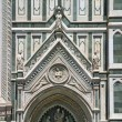 Detail of Cathedral in Florence — Stock Photo #35175719