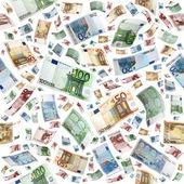 Euro as a seamless — Foto Stock