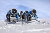 снежные пушки — Стоковое фото