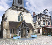 Sea museum Honfleur — Stock Photo
